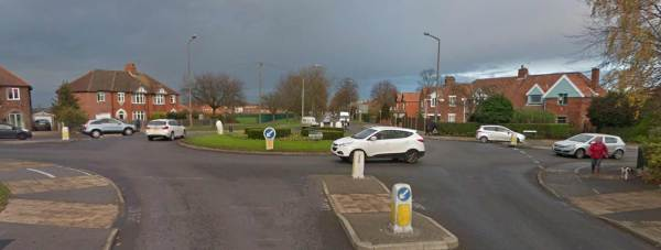The roundabouts will be closed over night for resurfacing works. Photo: Google Street View