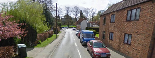 The crash took place on Stanhope Road, Horncastle and involved a Nissan car. Photo: Google Street View