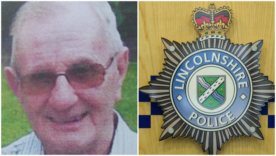 The body is believed to be missing man Keith Harrison. Photo: Lincolnshire Police