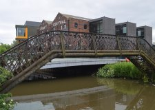The bridge will be pulled down should planning permission be approved.