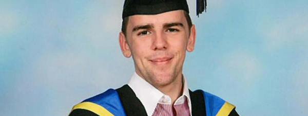 Powys-Llewellyn Cook, 21, from Grantham