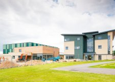 Phase two of development at Riseholme College's campus at the Lincolnshire Showground. Photo: Riseholme College