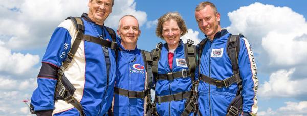 Sir Robert Pattinson Academy teachers: (left to right) Nick Honey, Tony Dickens, Helen Renard and John Griffiths
