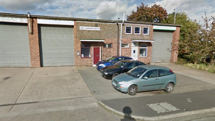 Care 4 U Services (Lincs) Ltd on Cornwallis Road in Lincoln. Photo: Google