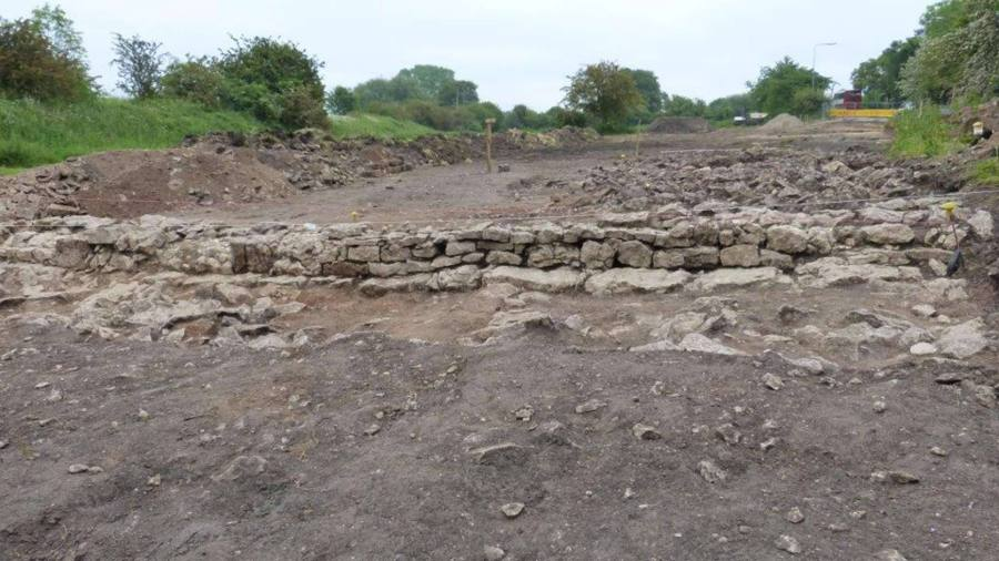 Archaeological discoveries on the site of the Lincoln Eastern Bypass. Photo: Lincolnshire County Council