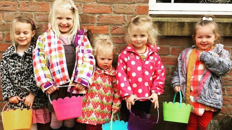 Deborah's five step granddaughters