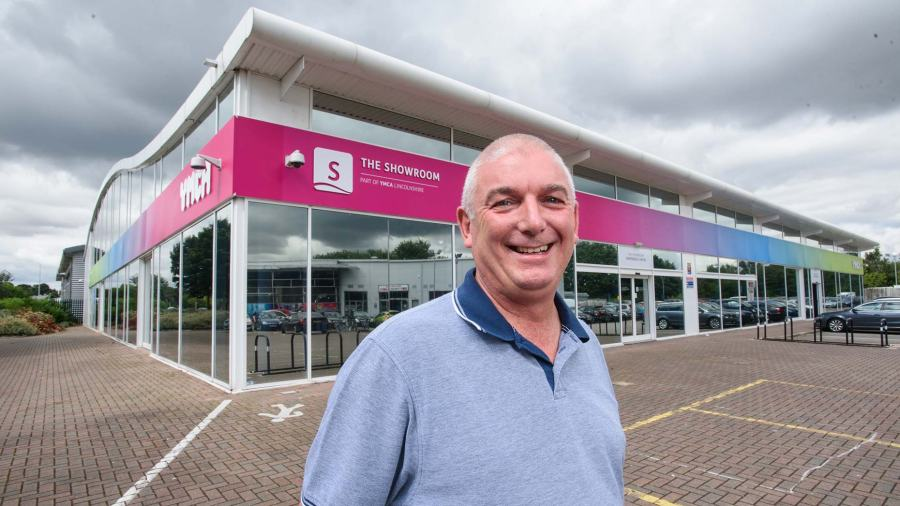 Malcolm Barham, Chief Executive for Lincolnshire YMCA. Photo: Steve Smailes