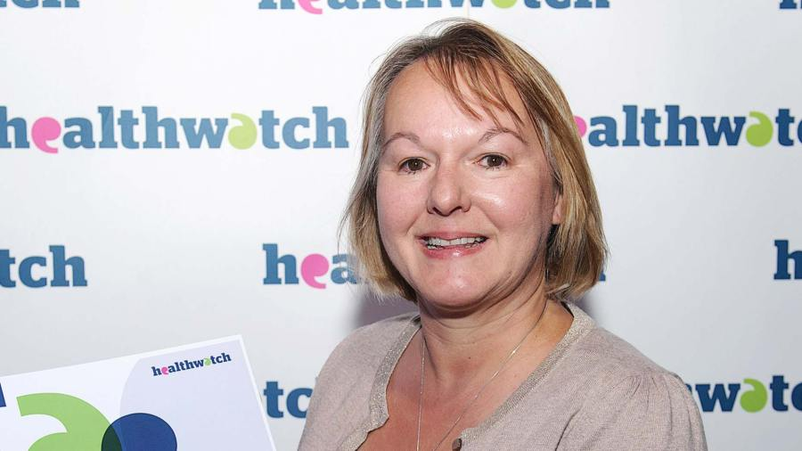 Sarah Fletcher is the CEO of  Healthwatch Lincolnshire