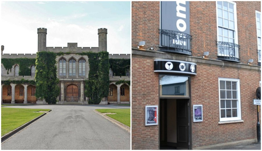 The doorman was attacked at Home nightclub in Lincoln.