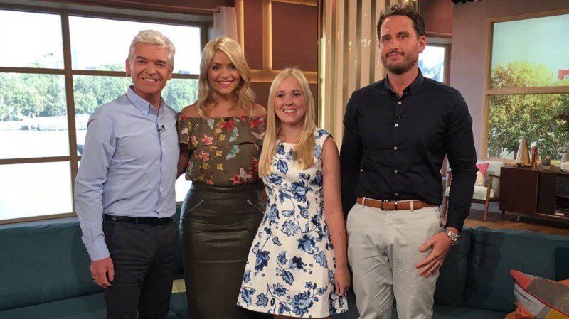 Adam and Kate recently appeared on ITV's This Morning at speak about how Restorative Solutions brought them together.