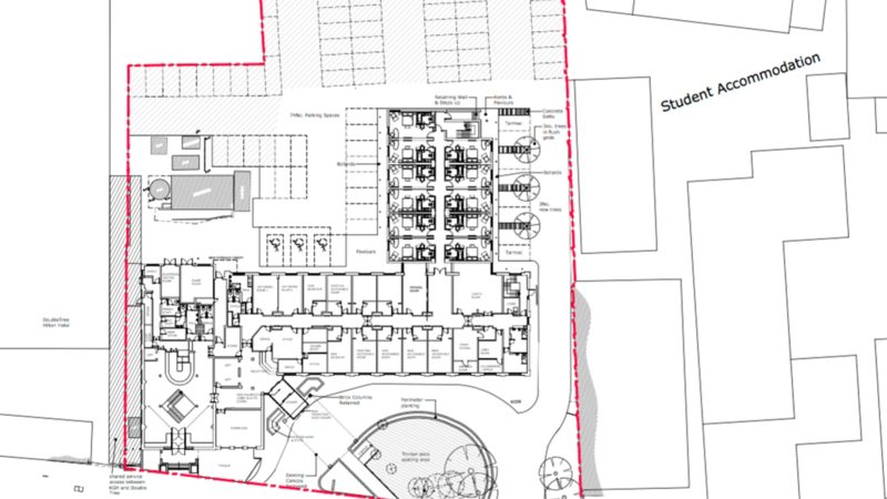 Holiday Inn site plan