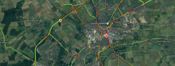 Commuters faced traffic delays on the morning of the second round of road closures.