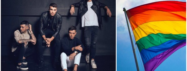 Boy band Union J will headline this year's Lincoln Pride.