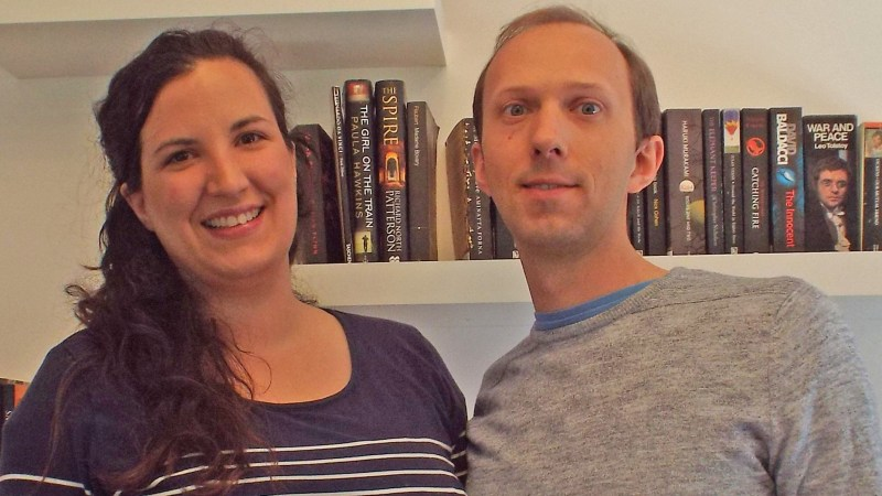 Kelly and Daniel Engstrom Photo: Kelly Engstrom