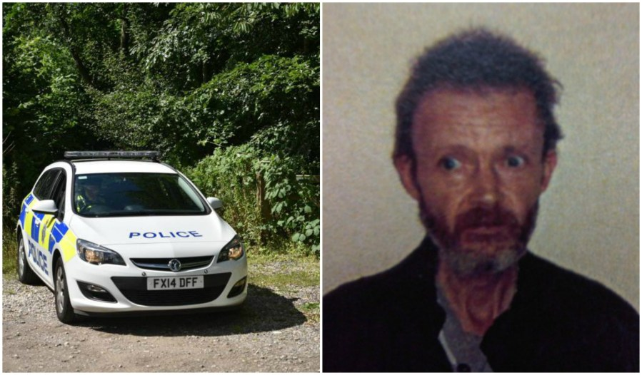 Police have identified the man found dead in a tent in Lincoln as missing man Karl Hawkins.