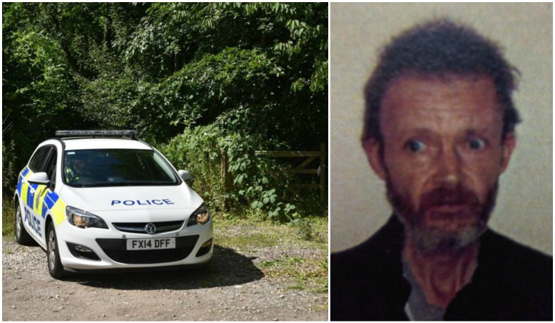 After a long search appeal issued with the picture above, Karl's body was sadly found in a tent in Lincoln.
