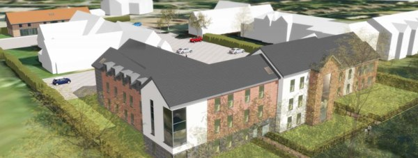 Artist impressions of the proposed new student accommodation. Photo: LK2 Architects LLP