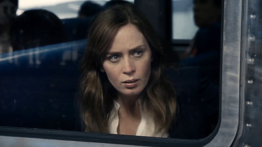 Emily Blunt in The Girl on the Train. Photo by Dreamworks.