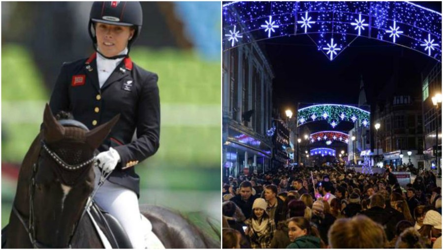 Gold medal winning Paralympian Sophie Wells will be turning on the Lincoln Christmas lights.