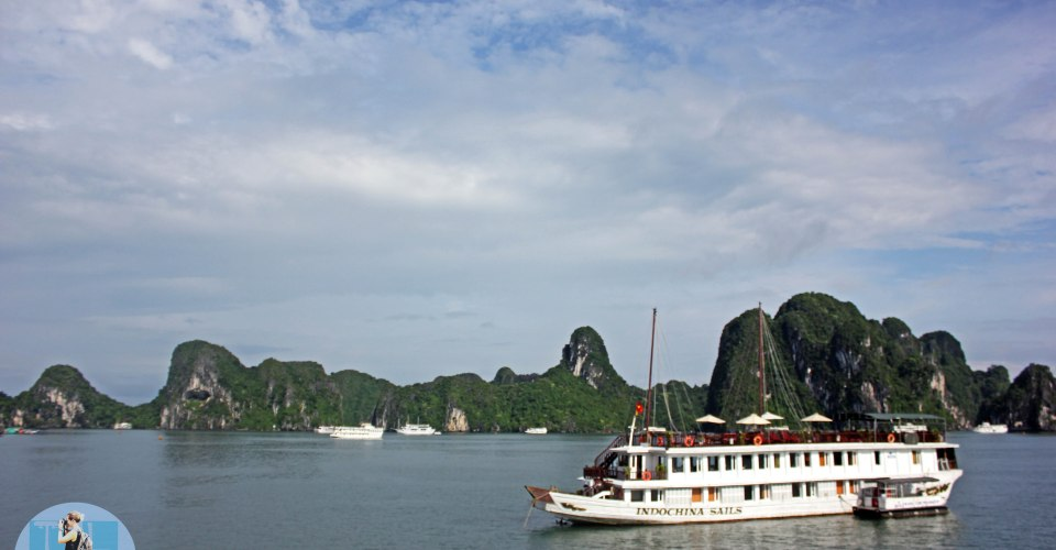 Cruising Halong Bay on a Junk