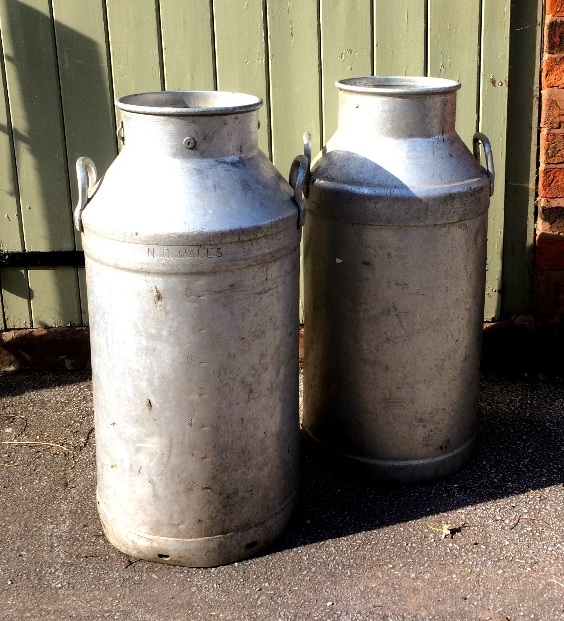 Decorative Milk Urn Vintage Milk Churns