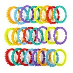 Bright Starts Lots of Links- Solid Colors