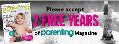Parenting Magazine sign-up