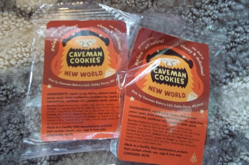 New World Caveman Cookies by Caveman Bakery   ||   See the review at thelittledabbler.com
