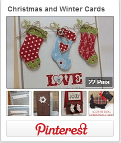 Christmas and Winter Cards Pinterest Board from thelittledabbler