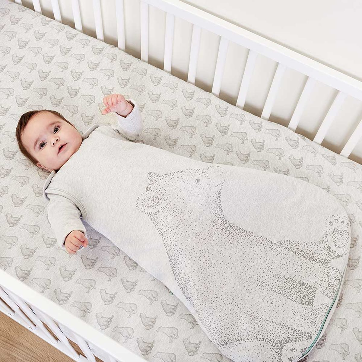 Cotton Baby Sleeping Bag Wild Cotton Organic Sleeping Bag 2 5 Tog Bear