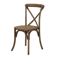 Cross-Back Chair | The Little Wedding Shoppe