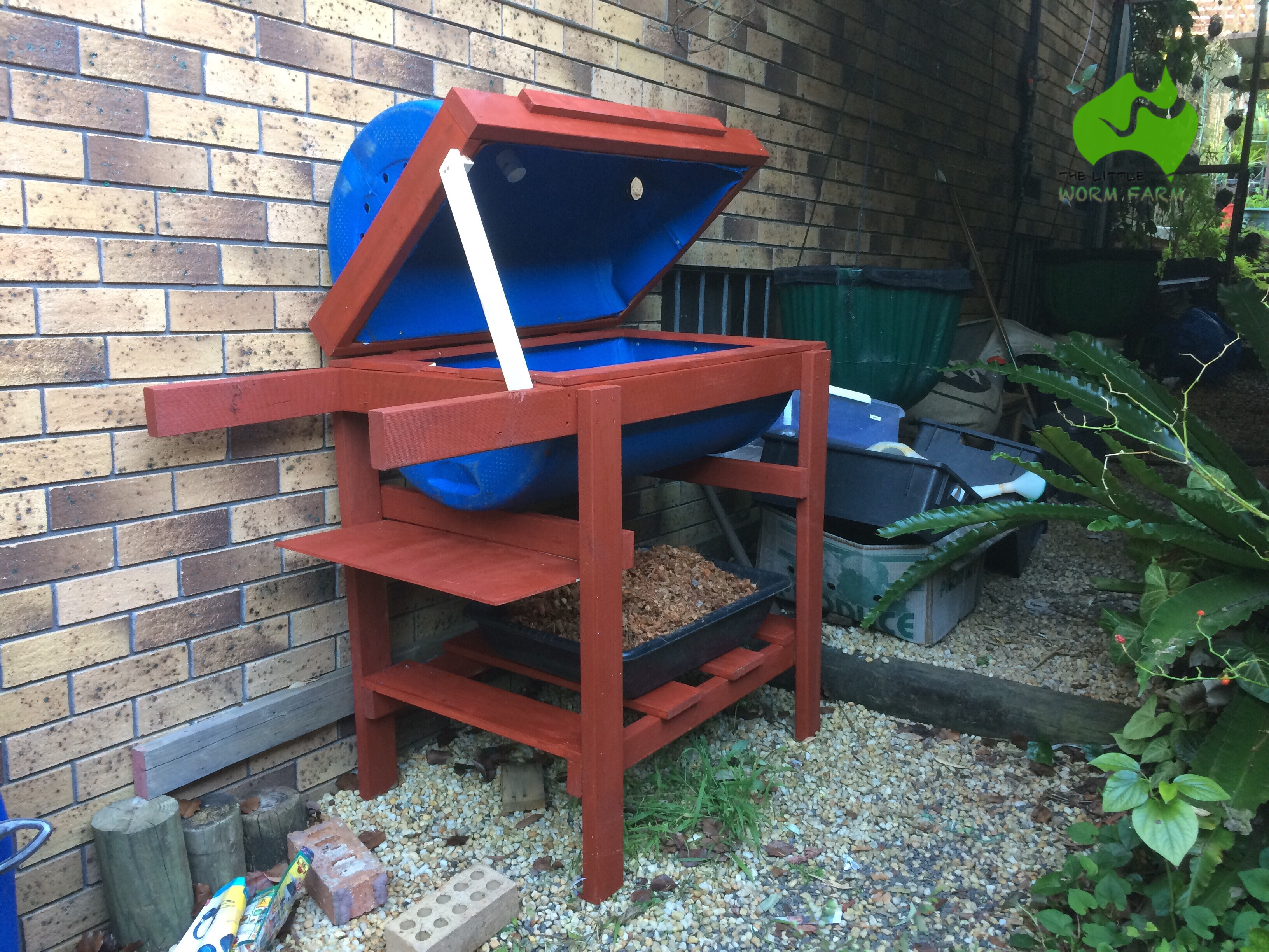 Diy Compost Bin Plans Pantagruel My Diy Bsfl Compost Bin The Little Worm Farm