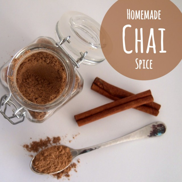 Homemade Chai Spice ~ YUM!! •