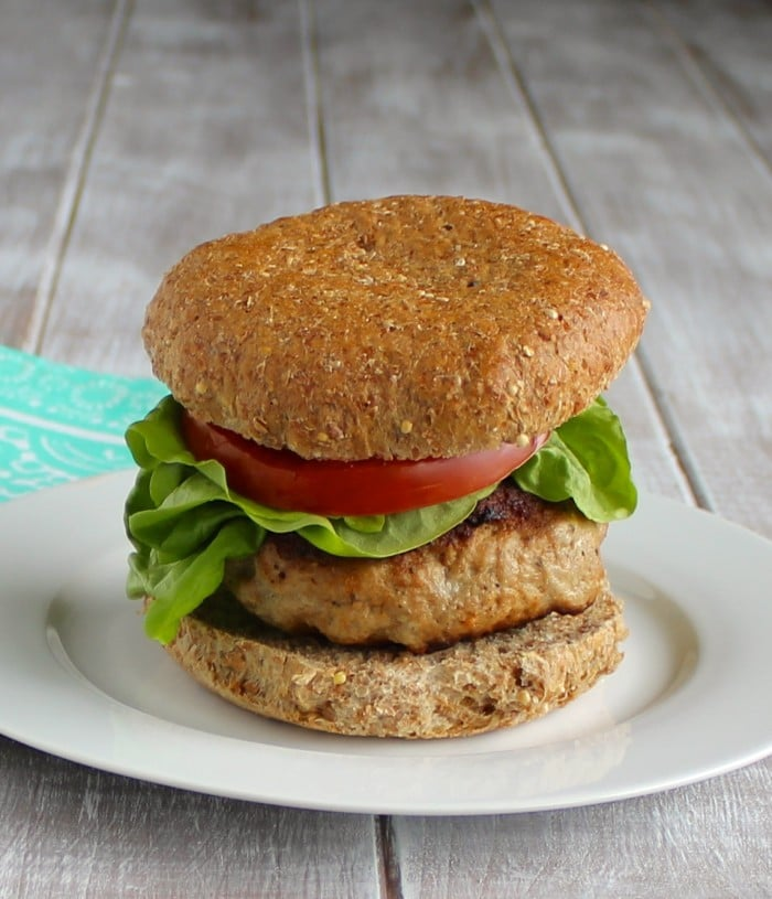 The BEST Turkey Burgers! • The Live Fit Girls