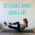 Resistance Bands Arms & Abs Workout