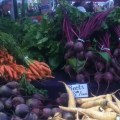 Farmers Market beets and carrots