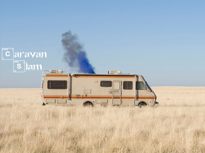 Caravan Slam: Live poetry rocks my world