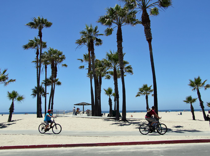 LA's 26-mile bike path
