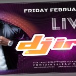 DJ Irie at LIV Nightclub Friday February 7th