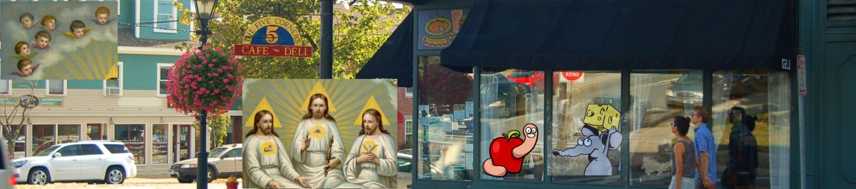 A Prayer of (Burp) Thanks For The Town's Health Department For Saving Us From Five Corners Cafe