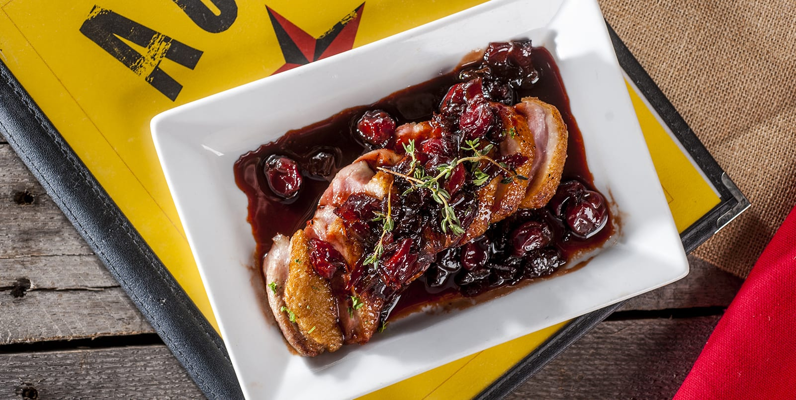 Gastrique Cuisine Duck Breasts With Cheerwine And Cherry Gastrique The