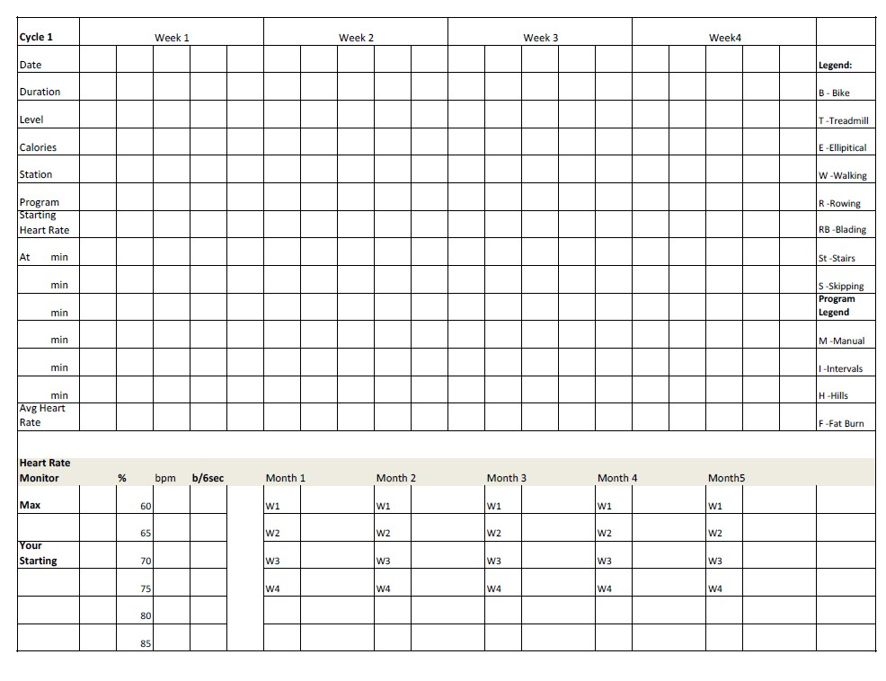 weight loss tracking chart hgvi