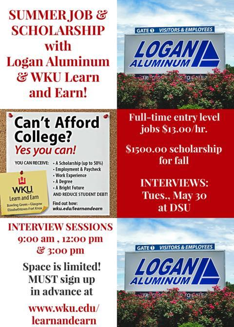 Logan Aluminum to expand again, offering summer jobs through WKU