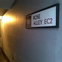 Doorways and Alleyways of East London