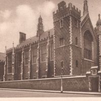 Old photos of Lincoln's Inn