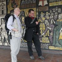 Walking Roman Watling Street with Iain Sinclair, Andrew Kotting and Anne Caron-Delion