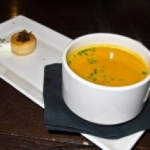 thumbs sel de la terree squash soup Boston Eats
