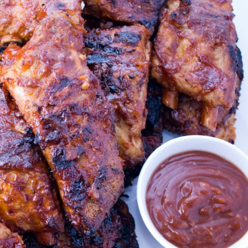 LunaCafe's Grilled Baby Back Ribs | LunaCafe