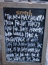 Sign in Front of Smith Gastro Pub