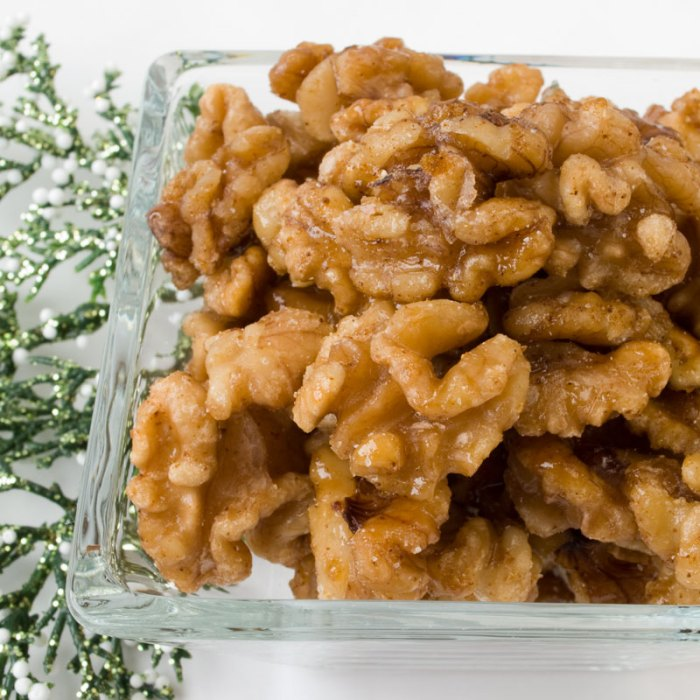 Candied Spiced Walnuts or Pecans | LunaCafe